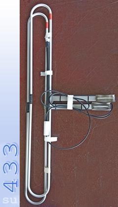 Антенна круговой направленности D2 VHF LOOP
