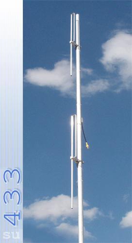 Стационарная антенна всенаправленная серии МобилРадио D2 VHF