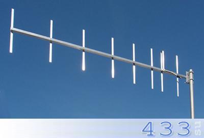 Базовая антенна MR-Y (Yagi) 8-UHF для радиоохранных систем  и радиомодемов 433 МГц