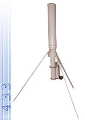 Широкополосная антенна для VHF раций