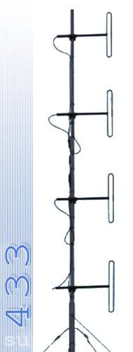 Стационарная антенна всенаправленная Радиал D4 VHF