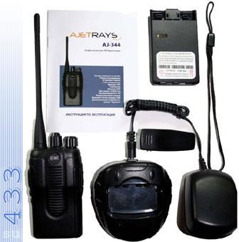 Ajetrays AJ-344V   переносная радиостанция