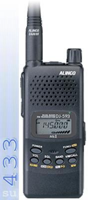 Alinco DJ T-593 MK II - двухдиапазонная портативная радиостанция