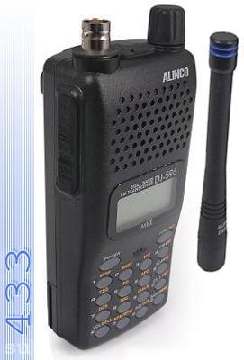 Alinco DJ T-596 MK II - двухдиапазонная портативная радиостанция
