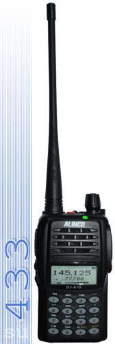 Alinco DJ A10 -   миниатюрная носимая радиостанция