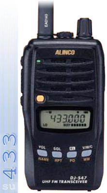 Alinco DJ-S 47 переносная LPD радиостанция